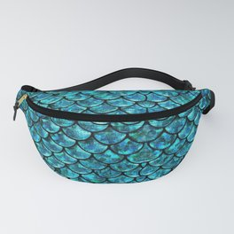 Mermaid Scales Design Fanny Pack