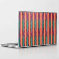 knitting Laptop & iPad Skins featuring Knitting Flames by VessDSign