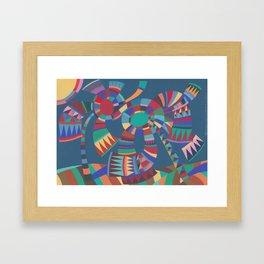 Wind and Sunshine Framed Art Print