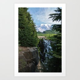 View from Paradise Art Print