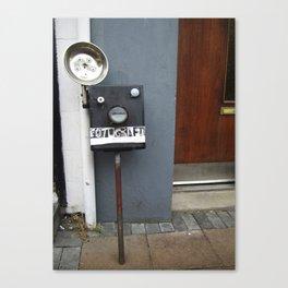 Fotograph Canvas Print