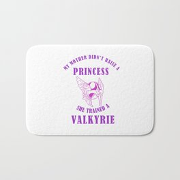 Viking Nordic Valkyrie Myth Valhalla Princess Gift Bath Mat