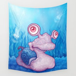 Slugly Wall Tapestry