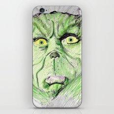 Grinch iPhone & iPod Skin