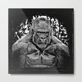 Primate Models: Mad Gorillas 01-02 Metal Print