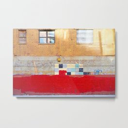 greenpoint walls Metal Print