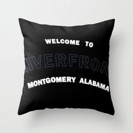The Riverfront Throw Pillow
