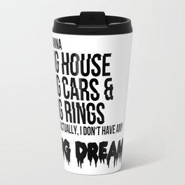 BTS Quote Travel Mug
