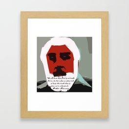 Tom Keating Framed Art Print