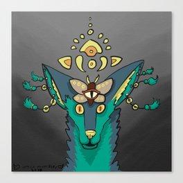 Third Eye Dog Canvas Print