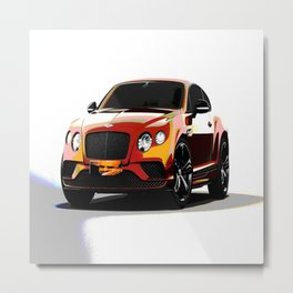 Car Ig one Metal Print
