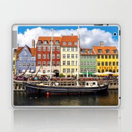 Copenhagen Harbor Laptop & iPad Skin