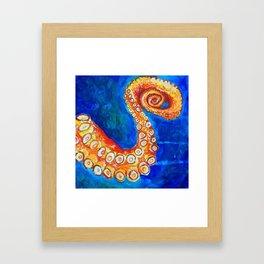 Octopus Leg Framed Art Print