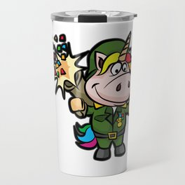 UNICORN BAZOOKA Party Military Army Birthday Travel Mug