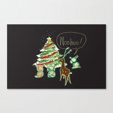 Woohoo Christmas! Canvas Print