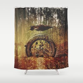 Intervention 32 Shower Curtain