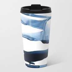 Abstract Indigo no. 2 Metal Travel Mug