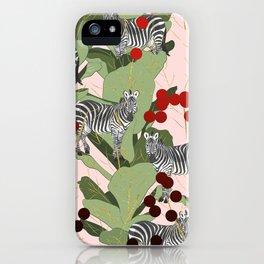 Zebra Harem #society6 #decor #buyart iPhone Case