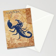 scorpius   skorpion Stationery Cards