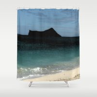 silhouette Shower Curtains featuring Silhouette  by Lyn Wiegand
