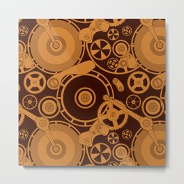 Clockwork 1 Metal Print