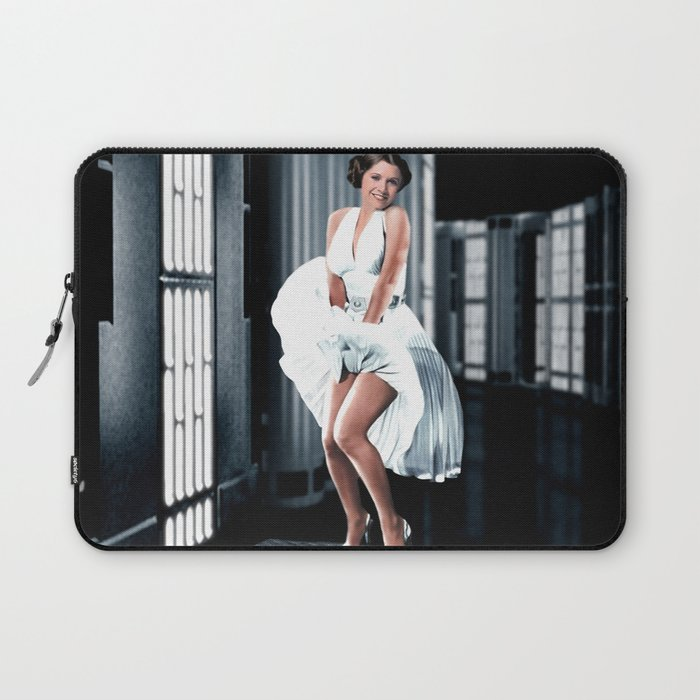 Leia as Marilyn Laptop Sleeve