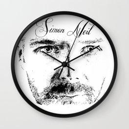Simon Neil - Biffy Clyro  Wall Clock