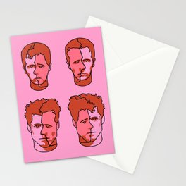Where is my mind? Pink Stationery Cards