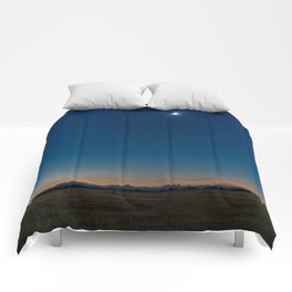 Solar Eclipse Totality Over Grand Tetons Comforters
