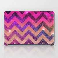 chevron iPad Cases featuring  CHEVROn by Monika Strigel