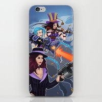 league of legends iPhone & iPod Skins featuring League of Legends Gunners by Arnix