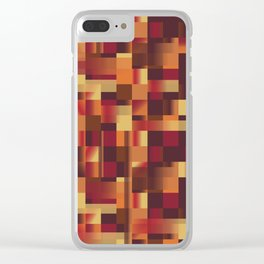 Pattern 9 Clear iPhone Case