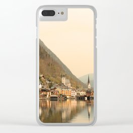 Hallstatt, Austria Clear iPhone Case