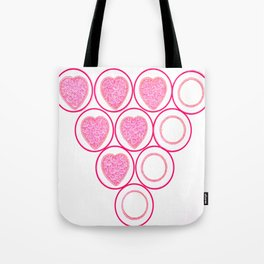 Valentines Heart Special Tote Bag