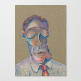 Mr. Clarence (The Gentlemen Series) Canvas Print