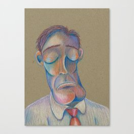 Mr. Clarence (The Gentlemen Series) Canvas Print