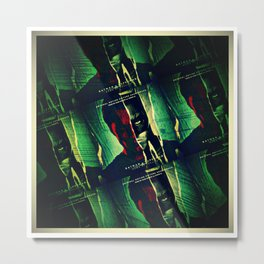 Knight Or Steel Metal Print