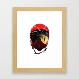 Casquette Framed Art Print