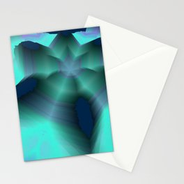 Random 3D No. 126 Stationery Cards