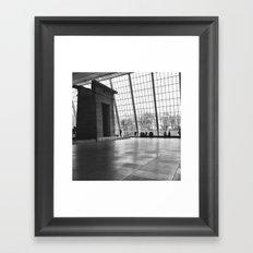 Temple of Dendur Framed Art Print