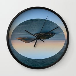 Slice of Island Wall Clock