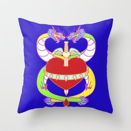 Love (Lucky Number 8) Throw Pillow
