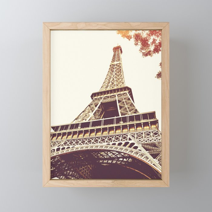 Eiffel Tower Framed Mini Art Print