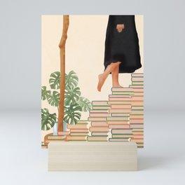 Books Mini Art Print