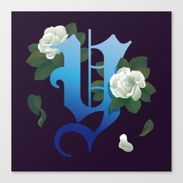 Letter 'Y' is for Yulan Canvas Print