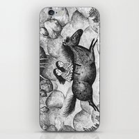 sisters iPhone & iPod Skins featuring Sisters by Ulrika Kestere
