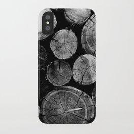 Wood Love iPhone Case