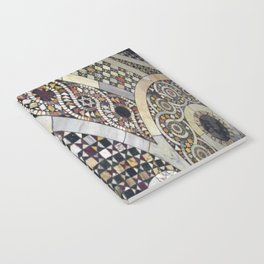 Mosaic Tile Vatican Floor (Hidden Jewish Star) Notebook