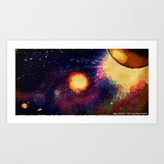 SPACE 04-25-12 Art Print