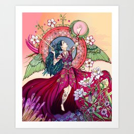 Goddess of the Equinox Art Print